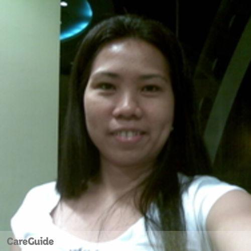 Canadian Nanny Provider Maria Cecilia P. Inopia's Profile Picture