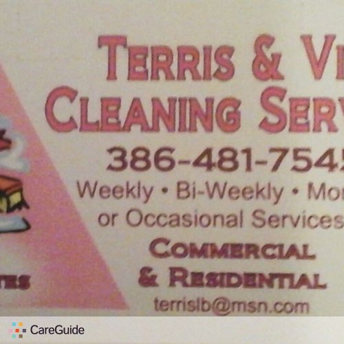 Housekeeper Provider Terris T's Profile Picture