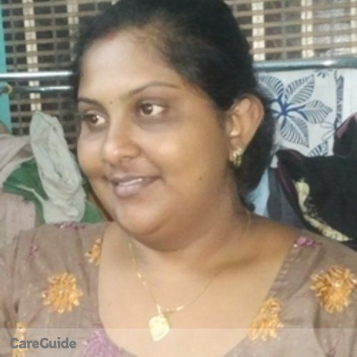 Canadian Nanny Provider Remya R's Profile Picture