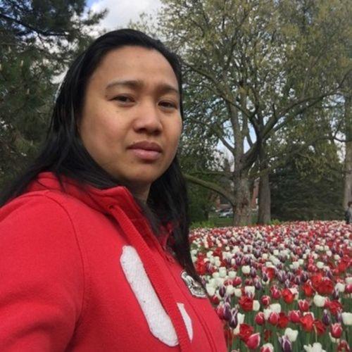 Canadian Nanny Provider Reggie Mainit's Profile Picture