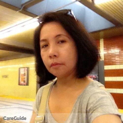 Canadian Nanny Provider Rizalina D's Profile Picture