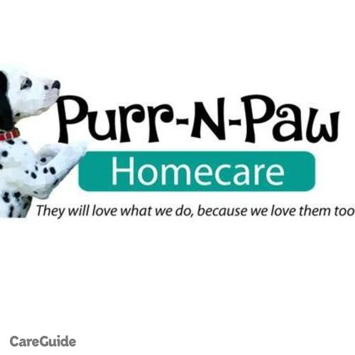 Pet Care Provider Purr-N-Paw Homecare's Profile Picture