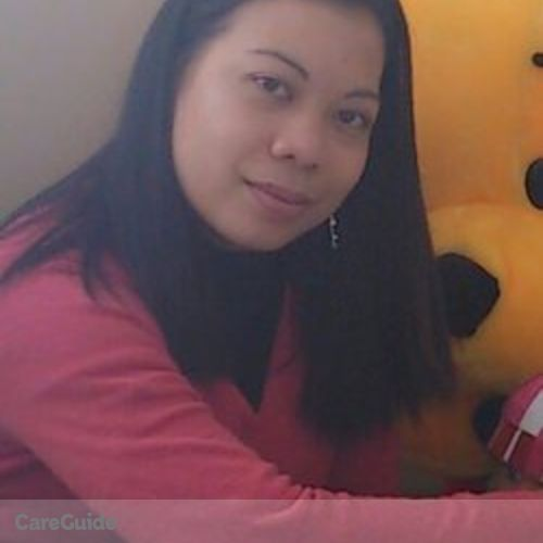 Canadian Nanny Provider Virgie De Asis's Profile Picture