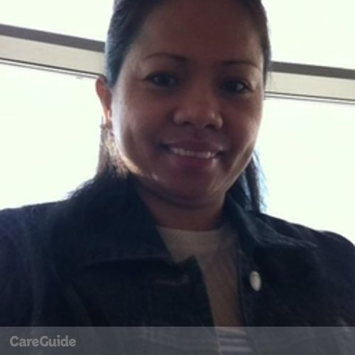 Canadian Nanny Provider Rizza Geronga's Profile Picture
