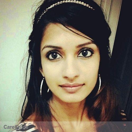 Canadian Nanny Provider Uma 's Profile Picture