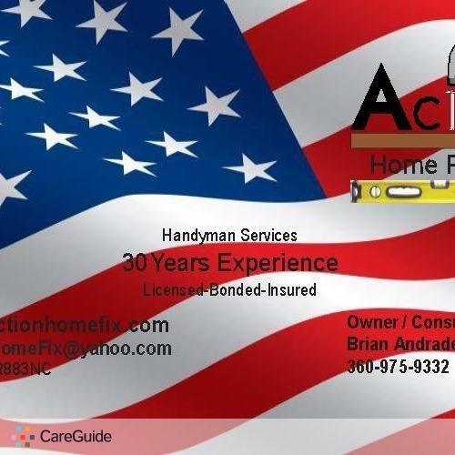 Handyman Provider Brian Andrade's Profile Picture