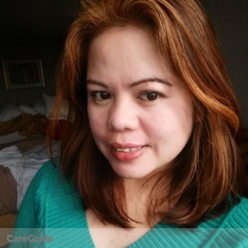 Canadian Nanny Provider Cristina Delos Santos's Profile Picture