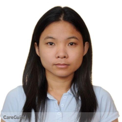 Canadian Nanny Provider Eden Grace Darapiza's Profile Picture