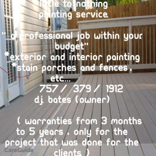 Painter Provider Dj Bates's Profile Picture