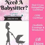 Babysitter, Daycare Provider, Nanny in Sarnia