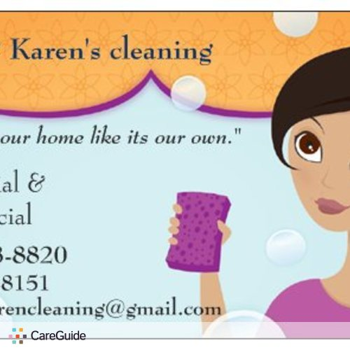 Housekeeper Provider Karen 's Profile Picture