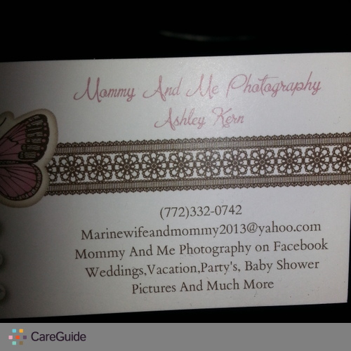 Photographer Provider Ashley K's Profile Picture