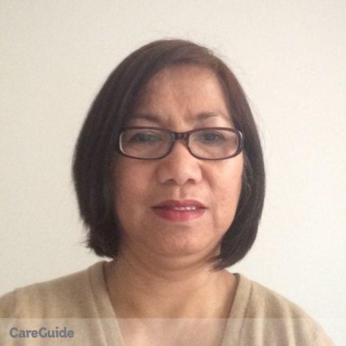 Canadian Nanny Provider Perlita M's Profile Picture