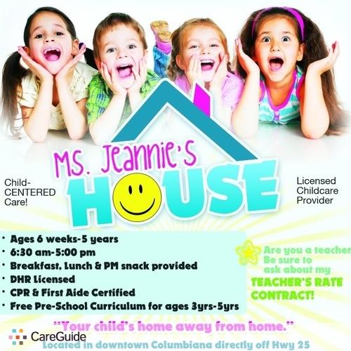 Child Care Provider Jeannie Brock's Profile Picture