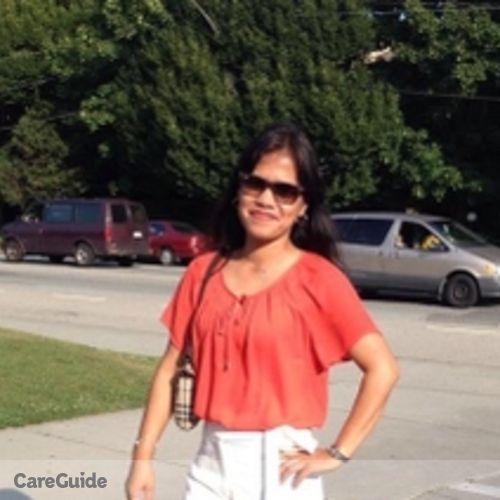 Canadian Nanny Provider Anna Liza Marzo's Profile Picture