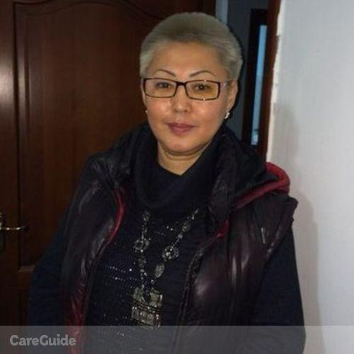 Elder Care Provider Makhabbat Amirkhanova's Profile Picture