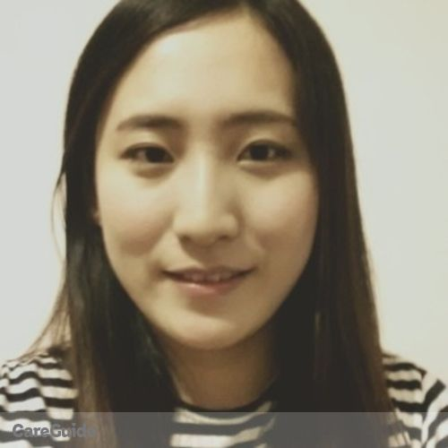 Canadian Nanny Provider Jin Young Park Park's Profile Picture