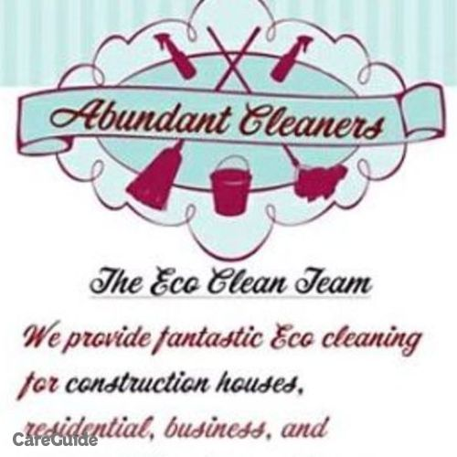Housekeeper Provider Abundant Cleaners's Profile Picture