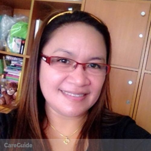 Canadian Nanny Provider Renclear Manginsay's Profile Picture