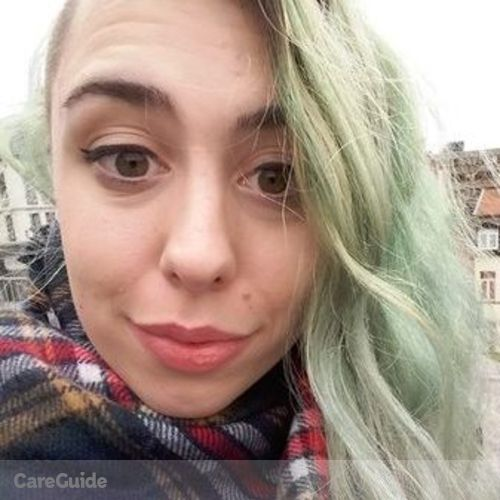 Canadian Nanny Provider Caitlin B's Profile Picture