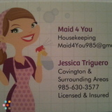 Housekeeper, House Sitter in Covington