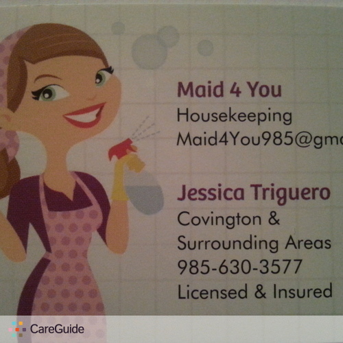 Housekeeper Provider Jessica Triguero's Profile Picture