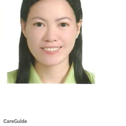 Canadian Nanny Provider Laarni B's Profile Picture