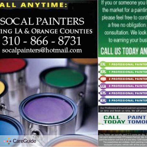 Painter Provider SoCal Painters's Profile Picture