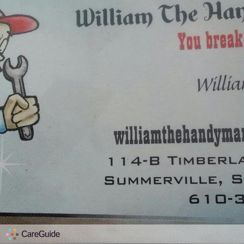 Handyman Provider William Hudson's Profile Picture