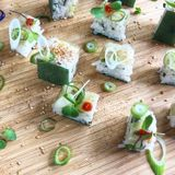 Plant based chef trained in multiple cuisine styles! sushi, Thai, Indian, Spanish, western, English, French.