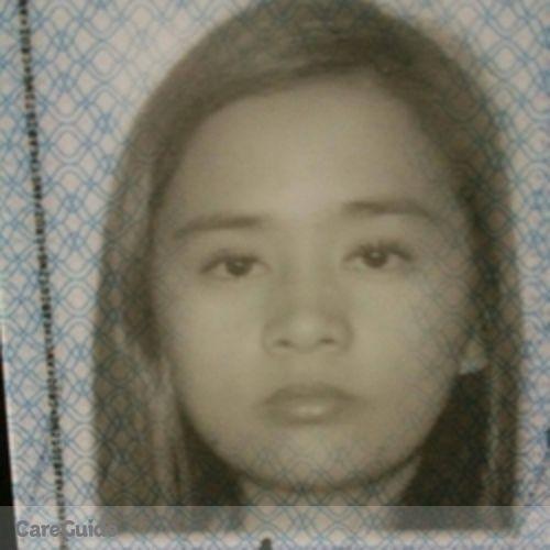 Canadian Nanny Provider Ancy Cruz's Profile Picture