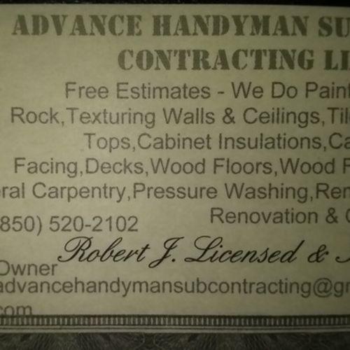 Handyman Provider Robert Johnson's Profile Picture
