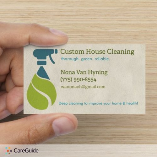 Housekeeper Provider Nona Van Hyning's Profile Picture
