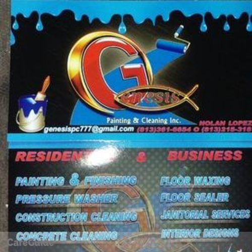 Painter Provider Genesis Painting and Cleaning's Profile Picture