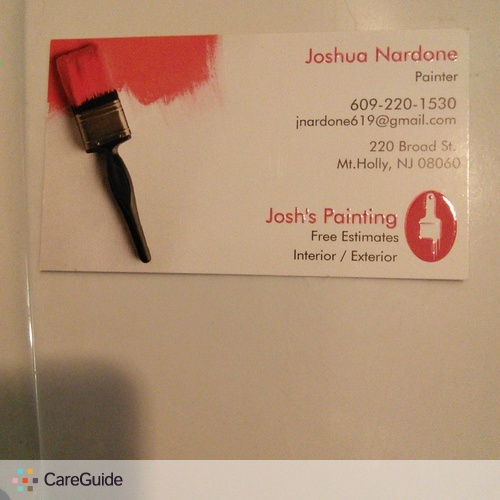 Painter Provider Joshua N's Profile Picture