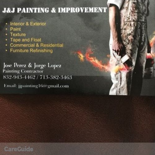 Painter Provider Jose Perez's Profile Picture