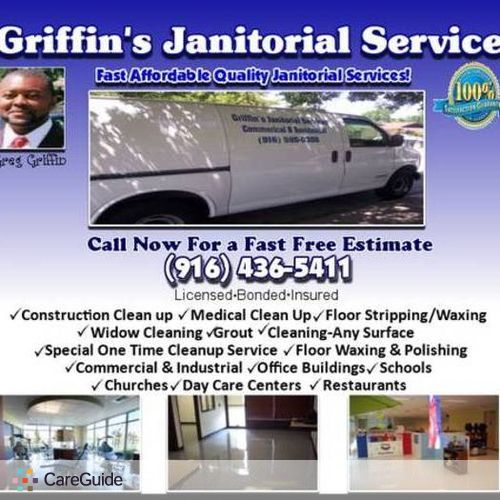Housekeeper Provider Griffin's Janitorial's Profile Picture