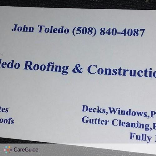 Roofer Provider John Toledo's Profile Picture