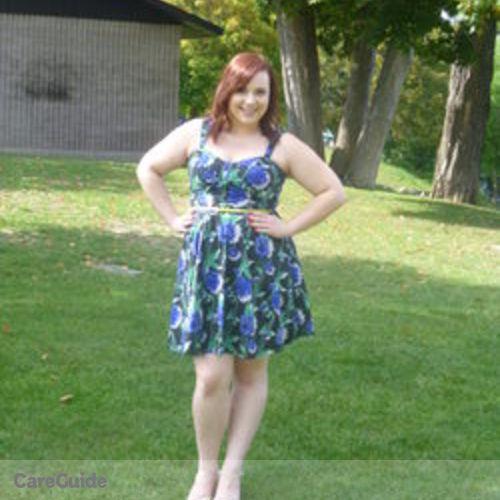 Canadian Nanny Provider Amanda Rapedius's Profile Picture