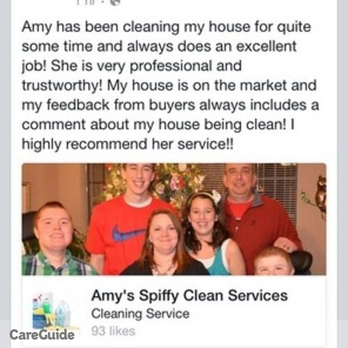 Housekeeper Provider Amy Ozbirn's Profile Picture