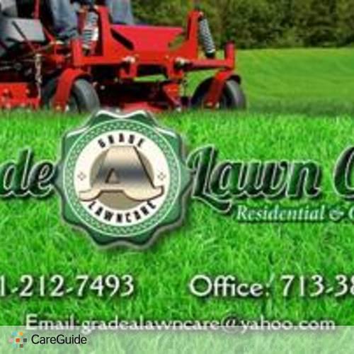 Landscaper Provider Grade A Lawn Care's Profile Picture