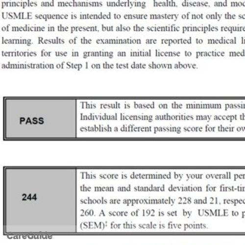 Pass test usmle