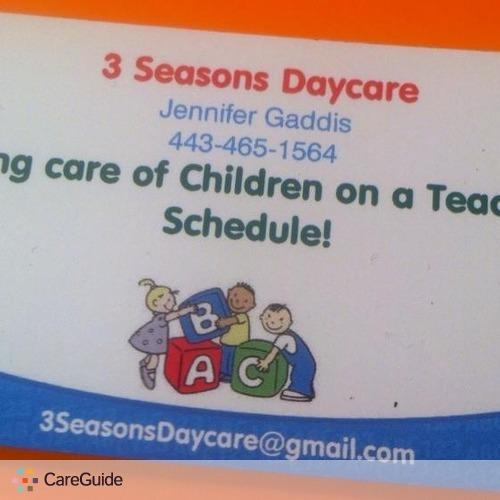 Child Care Provider Jennifer Gaddis's Profile Picture