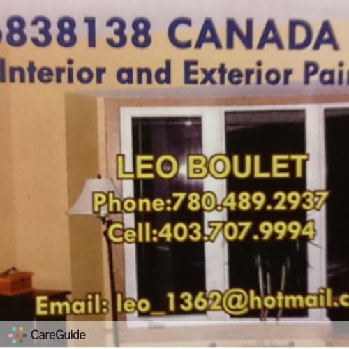 Painter Provider Leo Boulet's Profile Picture