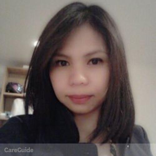 Canadian Nanny Provider Fremelda Rada's Profile Picture