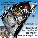 A+ Video Services- can preserve your special day at a price that won't bust the budget!