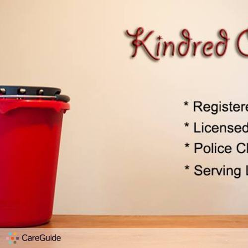 Housekeeper Provider Kindred Cleaning's Profile Picture