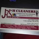 J & H Cleaners is the cleaning company you want!
