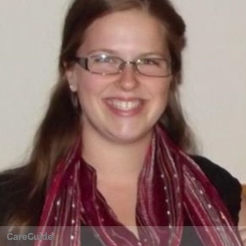 Canadian Nanny Provider Caitlan Hunter's Profile Picture