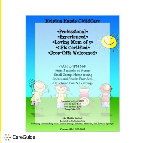 Child Care Provider Meshia Luckett's Profile Picture